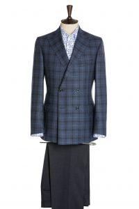 Maßbekleidung Zweireihiges Sakko mit Hose